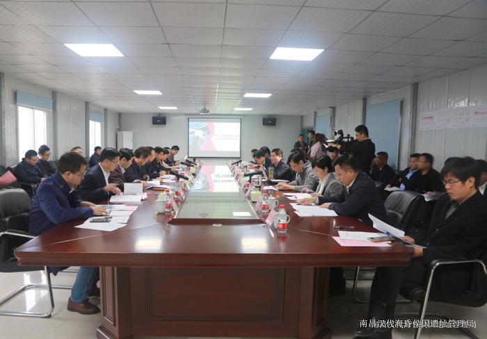 市委副书记、市长刘建洋调研海昏侯国考古遗址公园建设项目