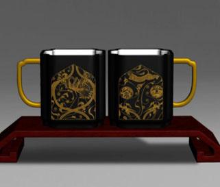 《和合吉祥》咖啡杯